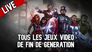 TOUS LES JEUX VIDÉO DE FIN DE GÉNÉRATION !