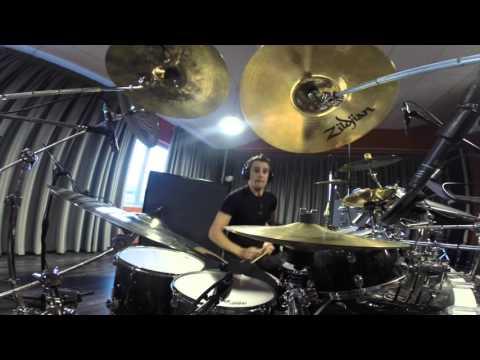 PROG METAL Virtual Symmetry Drum camera - MFE recording session 22.09.2015