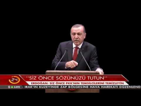 """Erdoğan'dan Schulz'a hodri meydan! """"Kimsin sen"""""""