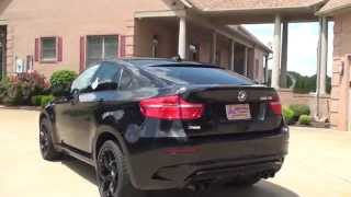 hd video 2011 bmw x6 m twin turbo crossover v8 for sale see www sunsetmotors com