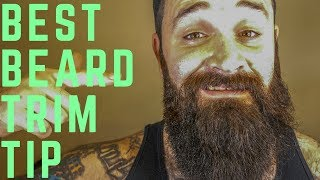 Beard Trim | Short Sides Long Bottom Explained in DETAIL | Tutorial