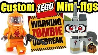 LEGO Zombie Outbreak Custom Minifigures