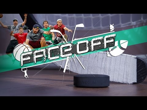 Dude Perfect: Hockey Shootout Challenge