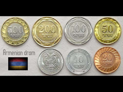 Armenian Dram Coins Collection ( Complete Set ) | Armenia - Asia