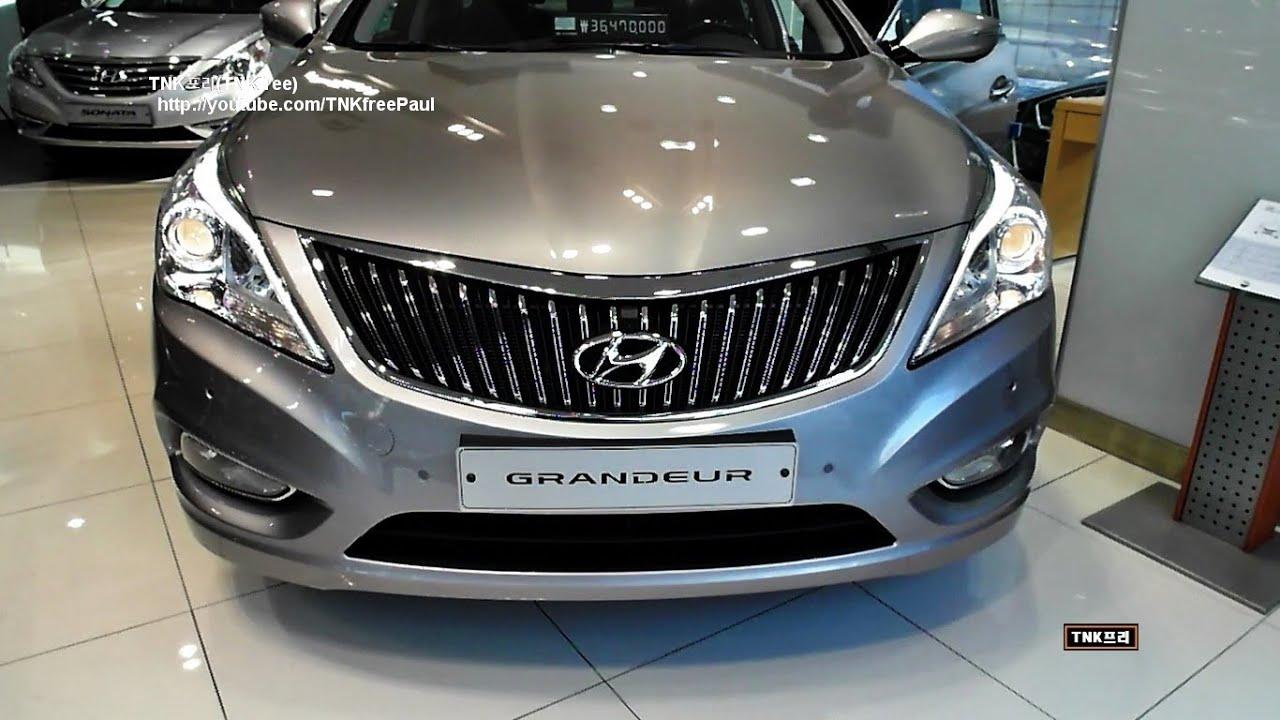 2013 Hyundai Azera Facelift 2013 Hyundai Grandeur