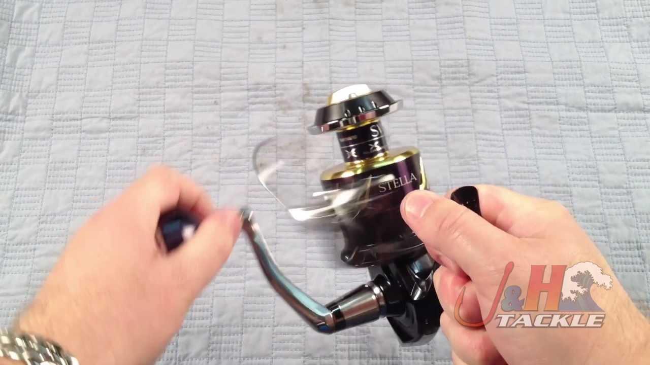 Shimano Stella SWB STL8000SWBHG Spinning Reel   J&H Tackle