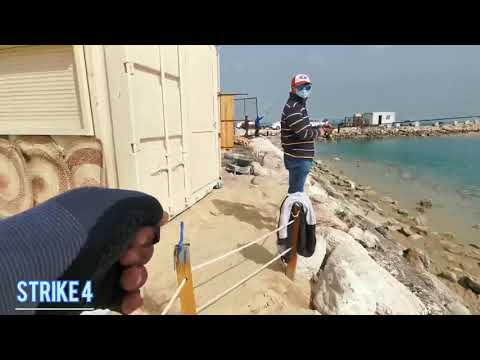 Unlimited Queenfish Strikes vs Ultralight || 📍Al Khobar Corniche Tower || Randy Fishing TV