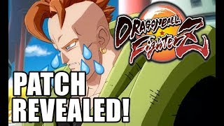 Patch Notes are Here!! Dragon Ball FighterZ Patch Review!