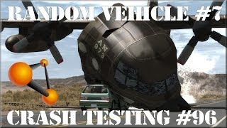 BeamNG Drive Alpha Pre-Race Update 0.3.3 Random Vehicle #7 Crash Testing #96 HD