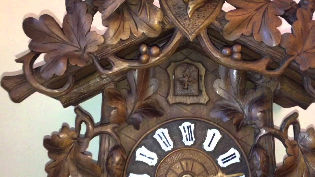 antique cuckoo clock by phu0026s circa for sale