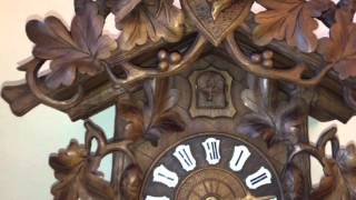 Antique Cuckoo Clock by PH&S circa 1890-1900 FOR SALE