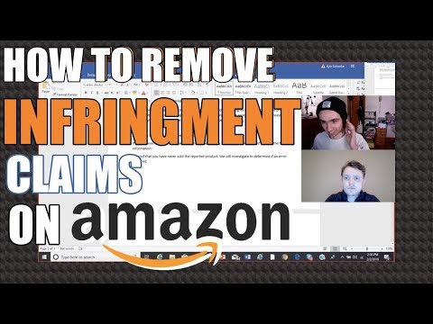How to Remove Infringement Claims From Your Seller Account on Amazon!