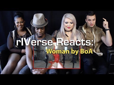 RIVerse Reacts: Woman By BoA - M/V Reaction