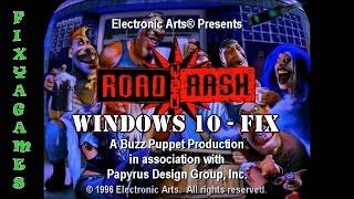 Road Rash 95 (Retail) Fix - Windows 10 64bit