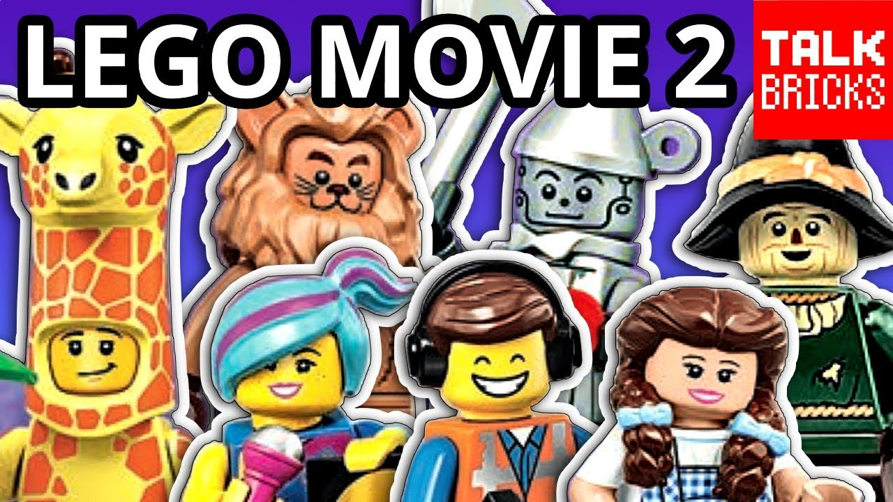 Lego Movie 2 Collectible Minifigures Series Revealed Wizard Of Oz All 20 Minifigures