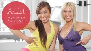 Hardcore Ab Workout With Blogilates | A-List Look With Valerie Waters