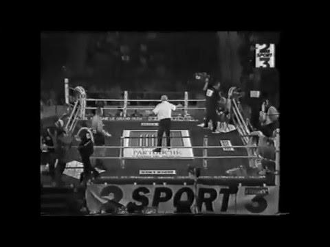 Alexander Zaitsev (Зайцев Александр - Россия) Vs Cherifi. 1996 год. Профессиональный бокс.