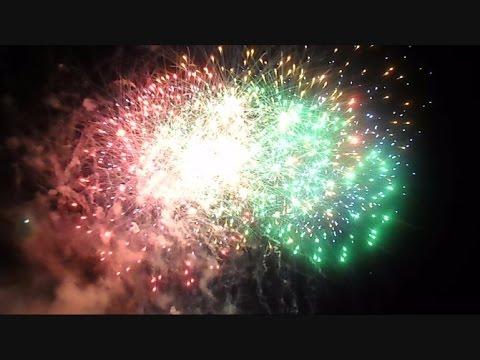 Busch Gardens Tampa Florida Summer Nights Fireworks 2014 - YouTube