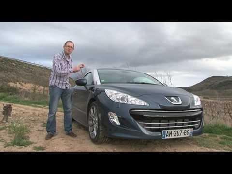 fifth gear web tv - peugeot rcz road test - youtube