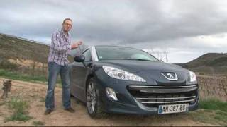 Fifth Gear Web TV Peugeot RCZ Road Test