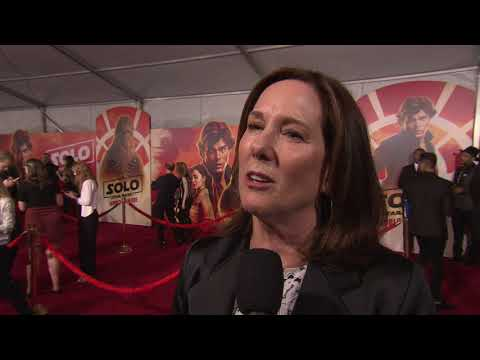 Solo: A Star Wars Story: Producer Kathleen Kennedy Movie Premiere Interview