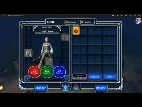 Eternium: Mage and Minions 1 2 115 hack by GameGuardian