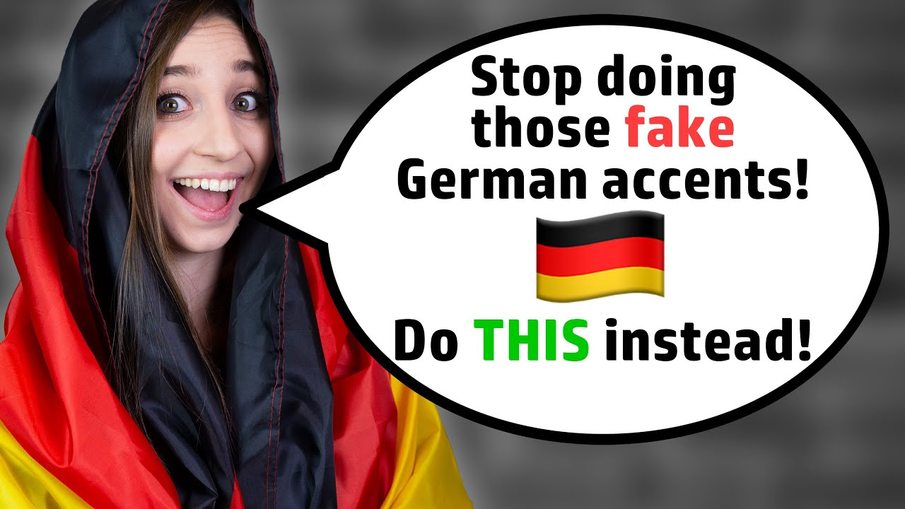 Download How to do a German accent (by a German native!)   German Girl in America