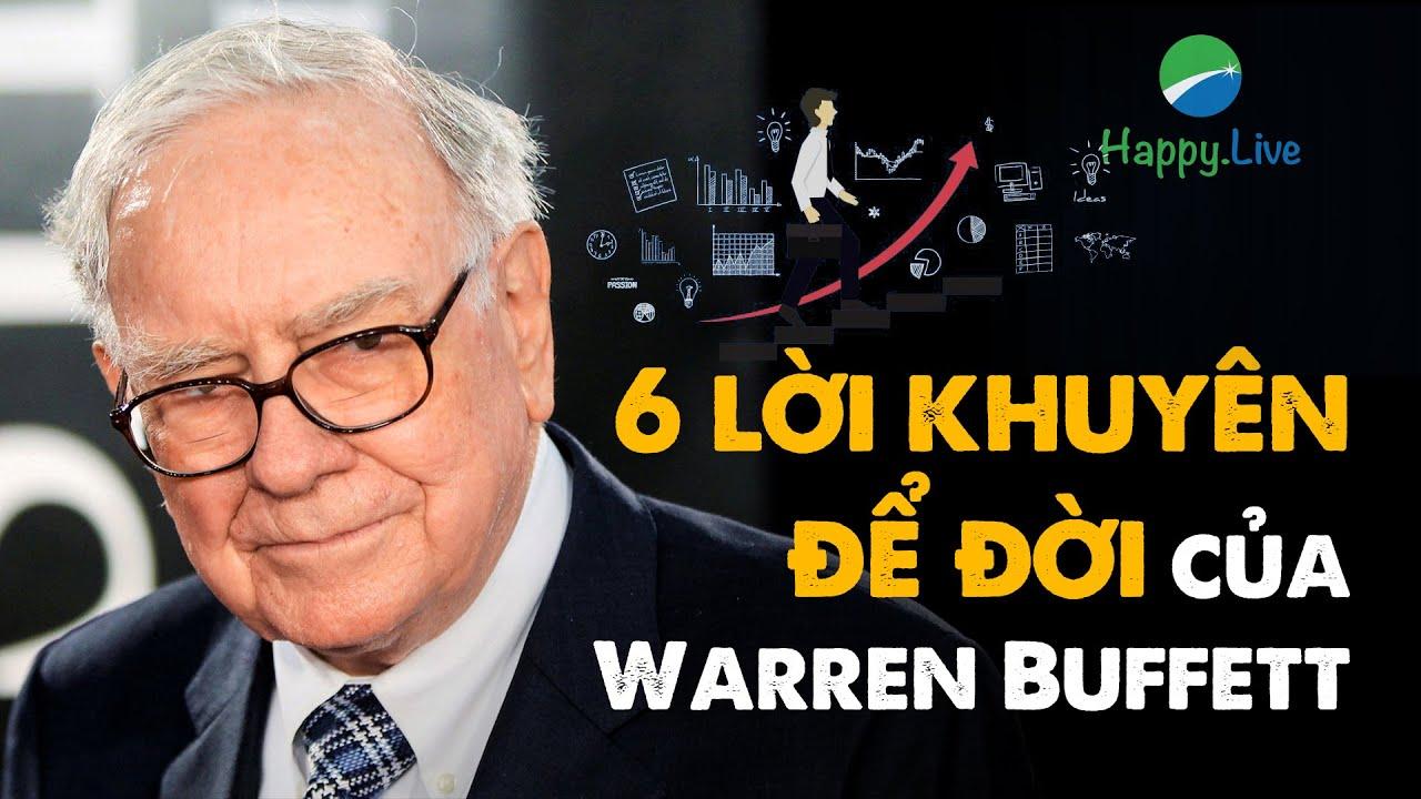 Nghe sách nói | 6 lời khuyên để đời của Warren Buffett mà người trẻ phải biết càng sớm càng tốt