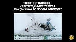 Tasoristeysonnettomuus Kemijärvellä 12.12.2018
