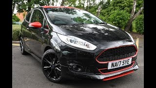 Used Ford Fiesta 1.0 EcoBoost 140 Zetec S Black 3dr Shadow Black 2017