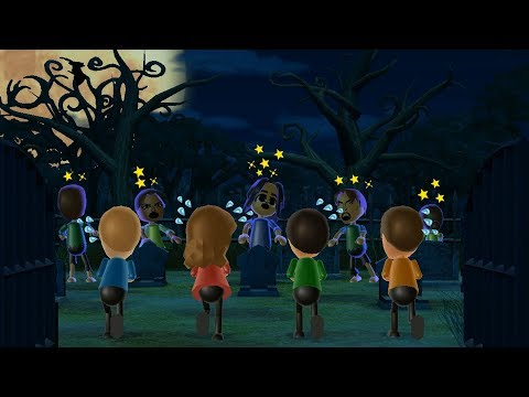 Wii Party Minigames - Player Vs Kathrin Vs Ren Vs Michael