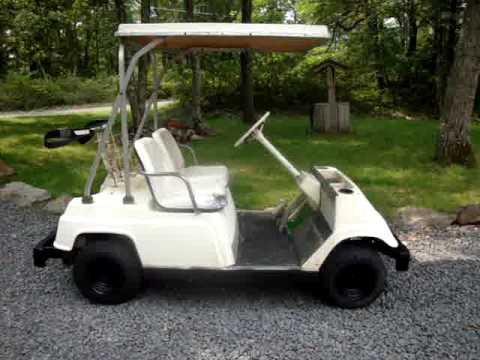 Yamaha G1 Golf Cart Wiring Diagram Water Heater Dual Element 1981 Gas 2 Stroke 4 Sale On Ebay 8 5 2009 Youtube