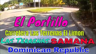 Driving Downtown - El Portillo - Las terrenas - Samana - Dominican Republic