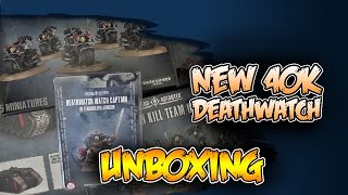 GW's Best Value Yet? Deathwatch Minis Unboxed!