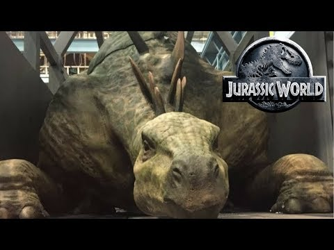 Jurassic World Fallen Kingdom News - Mercenaries, Dinosaur Auction, Jeff Goldblum and Trailer Date!