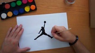 Video How to draw the Jordan logo download MP3, 3GP, MP4, WEBM, AVI, FLV Agustus 2018