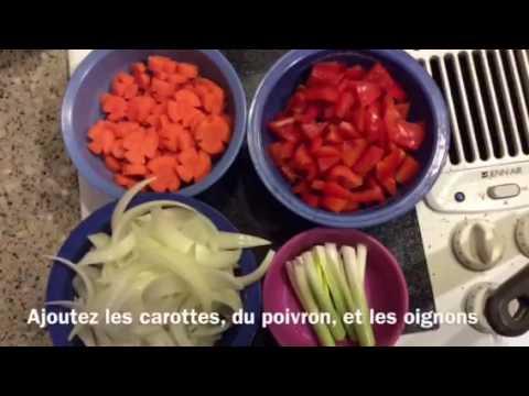Les Legumes Sautees Youtube