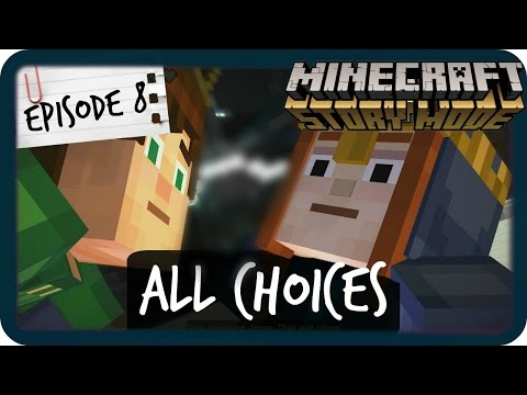 Minecraft Story Mode | ALL CHOICES | Episode 8