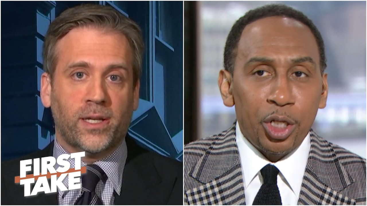 Stephen A. and Max discuss Mark Cuban and the national anthem at Mavs games | First Take