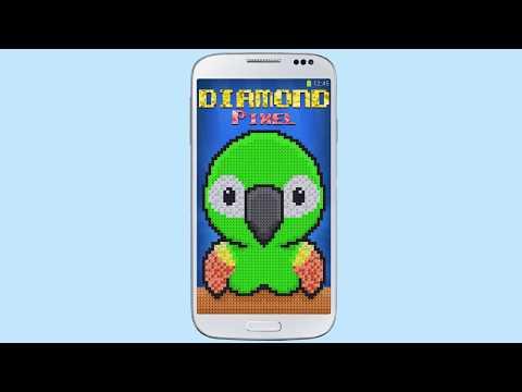 Diamond Piksel Boyama Kitabı Sayı Boyama Google Playde