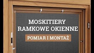 Pomiar i Montaż - Moskitiery Ramkowe Okienne