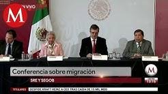 Segob y SRE ofrecen conferencia sobre migracin