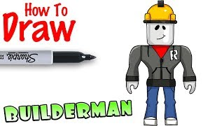 How to Draw Builderman | Roblox