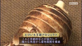 2018年11月放送 『JA京都やましろ「えびいも」奥西さん(京田辺市)』 京...