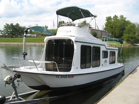 2002 adventure craft ac2800 trailerable houseboat for sale o