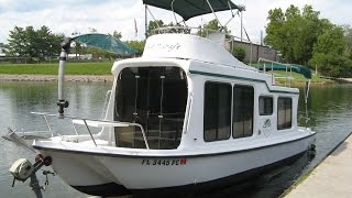 2002 Adventure Craft Ac2800 Trailerable Houseboat For Sale On Norris Lake Tn - Sold!