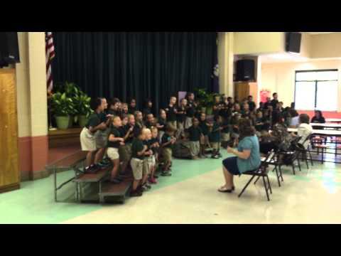 Elise Mendoza @ Whispering Forest Elementary School-Kinder-garden 2015