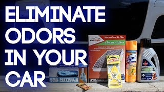 How to Deodorize a Car - Removing Smells in 5 Steps (Mouse, Garbage, Mildew and more)