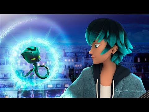 Miraculous Ladybug Luka transform into a new super hero of the
