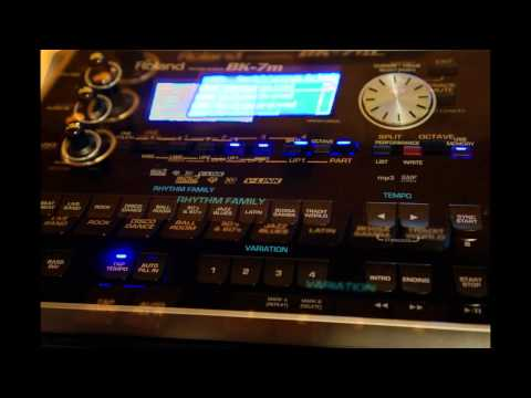 Roland BK-7m sounds demo